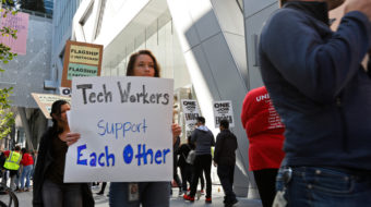 In high-tech breakthrough, workers at Google contractor vote to join union