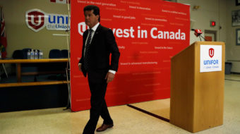 Canadian labor union leadership has gone missing during the election