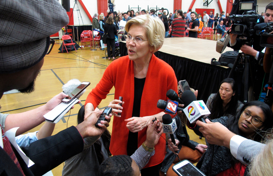 Rich and want to escape Elizabeth Warren's wealth tax? CNBC says get divorced.