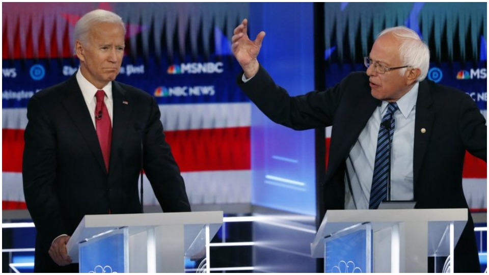 At Democratic debate, all candidates agree: Trump must go