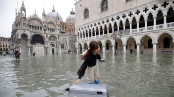 More than Venice: Climate change imperils ancient treasures worldwide