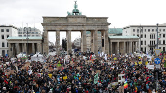 German marchers reflect the good, the bad and the ugly