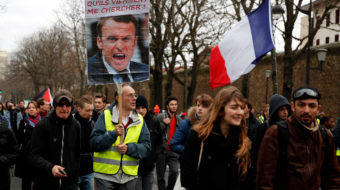 "Macron unites all French workers—against him and his pension ""reforms"""