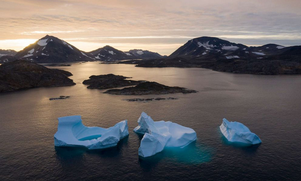 Greenland's ice melting at rate that surpasses scientists' expectations