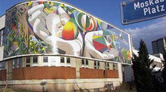 In Berlin and Erfurt, two murals belong to the people