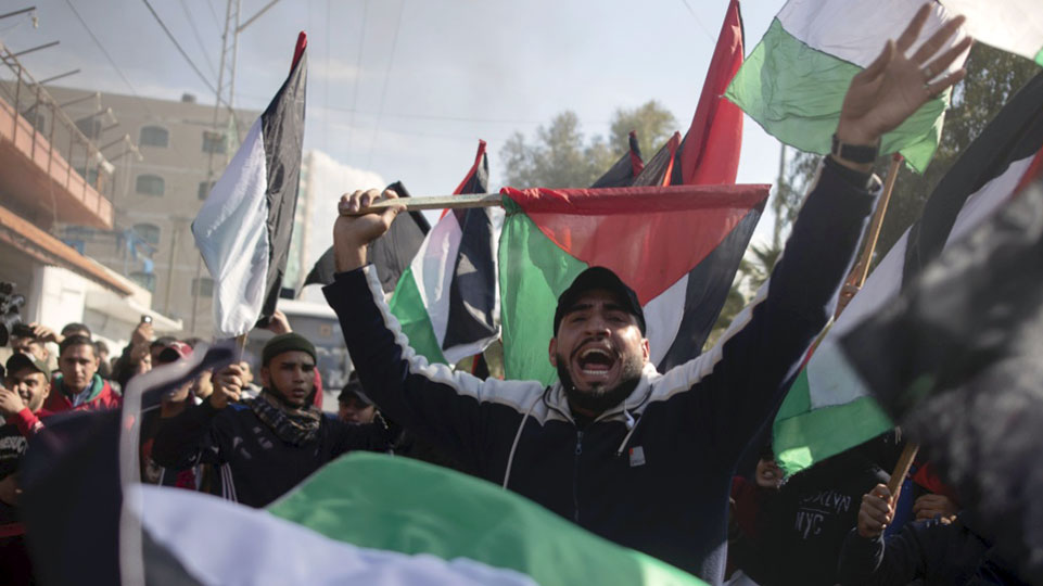 General strike in Gaza, protests rage against Trump's 'deal of the century'