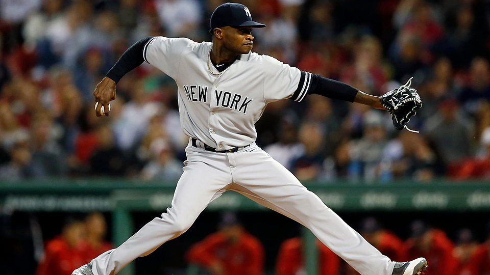 New York Yankees' ace pitcher benched 81 games for domestic violence