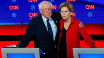 Following corporate media's Warren-Sanders controversy, progressive groups call for unity