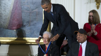 Katherine Johnson, pioneering NASA mathematician, dies