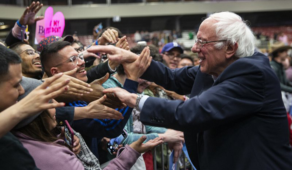 Red-baiting a key weapon in the war on the Sanders agenda