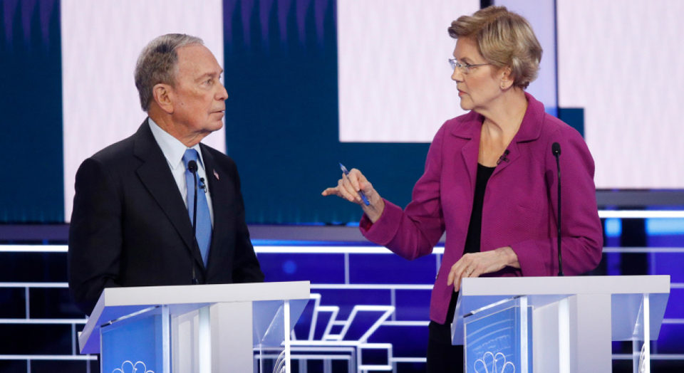 Bloomberg a big bomb at his first presidential debate