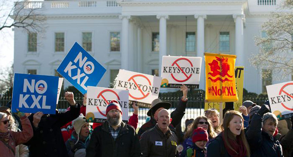 Trump brings Keystone XL pipeline back - environmentalists are ready to fight