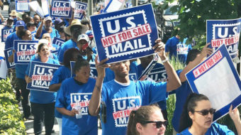 "Nationwide ""U.S. Mail is Not for Sale"" call-in February 25"
