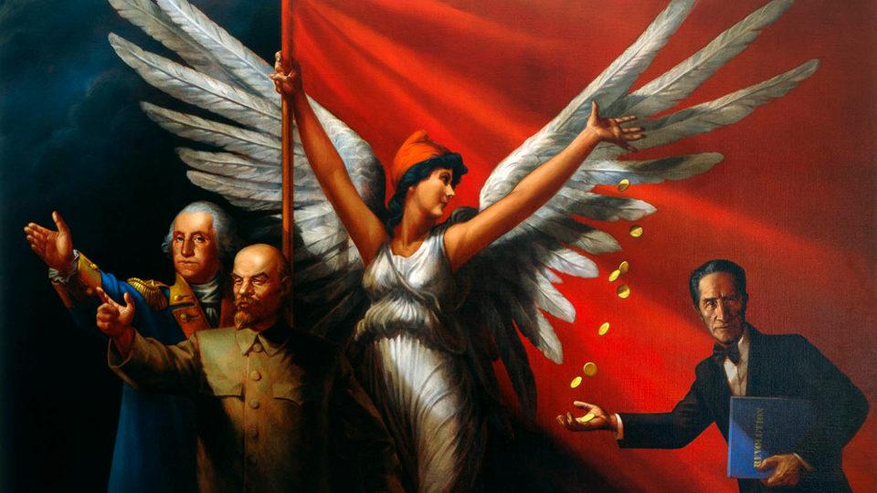 'Naked Revolution: A Socialist Realist Opera' is a Dadaistic immigrant dream farce