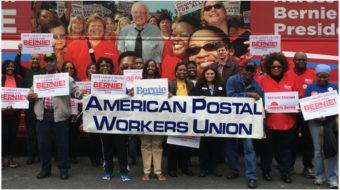 200,000-member Postal Workers union endorses Sanders for president, again