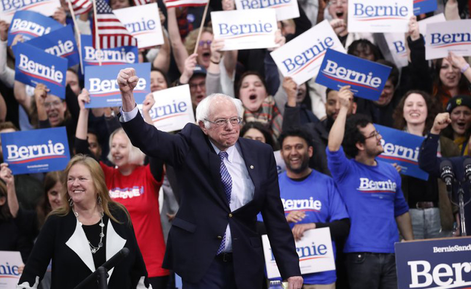 After New Hampshire win, Sanders calls for unity to defeat Trump