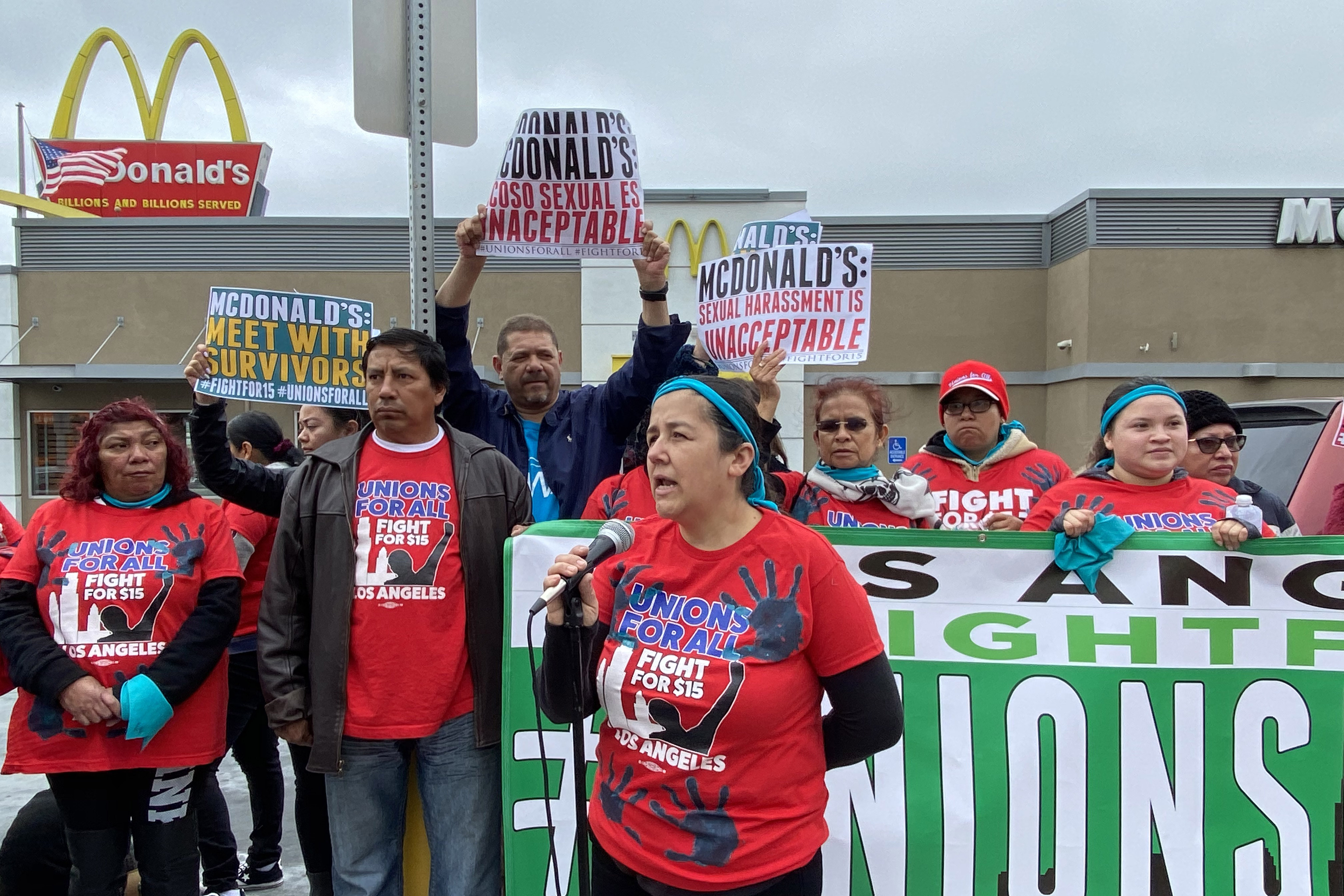 Unions move to protect workers from coronavirus, McDonald's doesn't