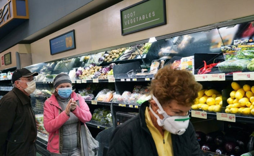 Grocery worker finds a reservoir of kindness and humanity in crisis