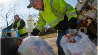 Coronavirus clean-up: Sanitation workers face increased risk, job loss