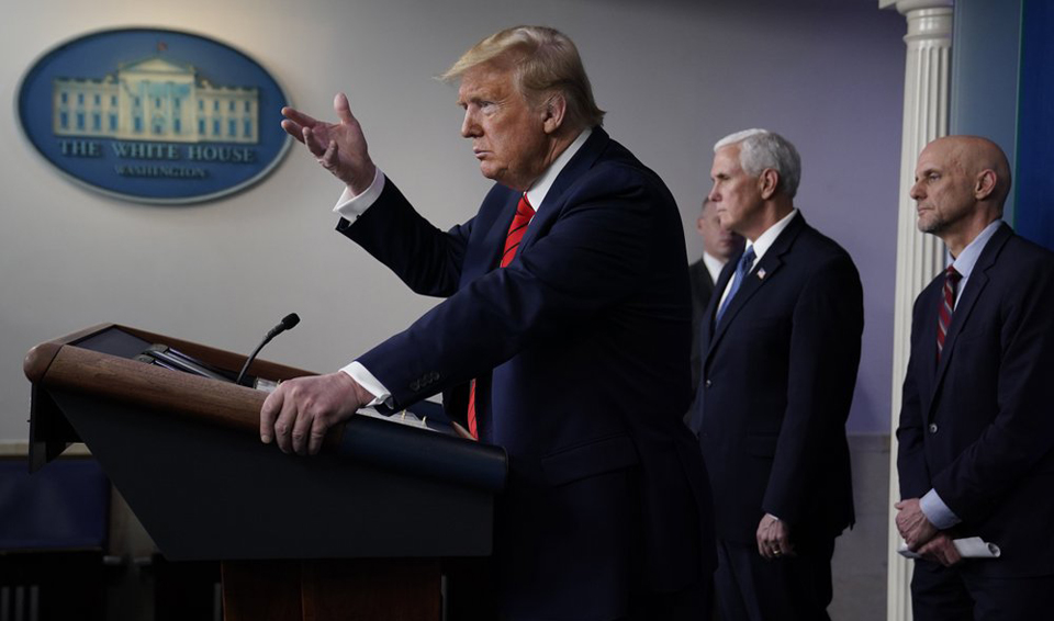 Trump response to pandemic a failing of unimaginable proportions