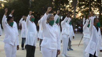 Cuban doctors battle COVID-19 around the globe, defying U.S.