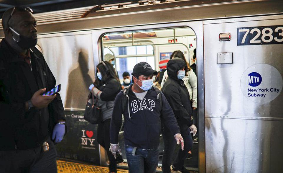 Three New York City transit workers dying every day of coronavirus