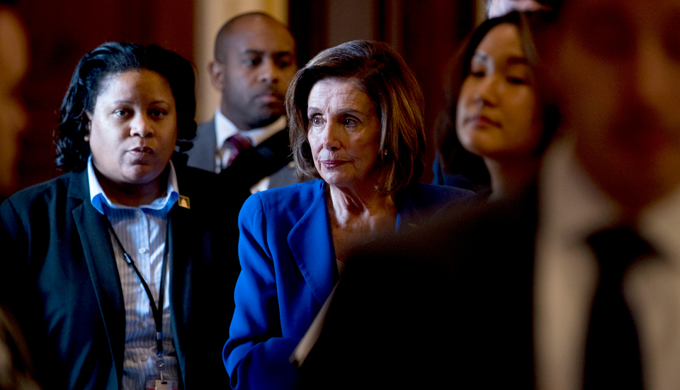 """Pelosi: Trump inaction on pandemic produced """"unnecessary deaths and economic disaster"""""""