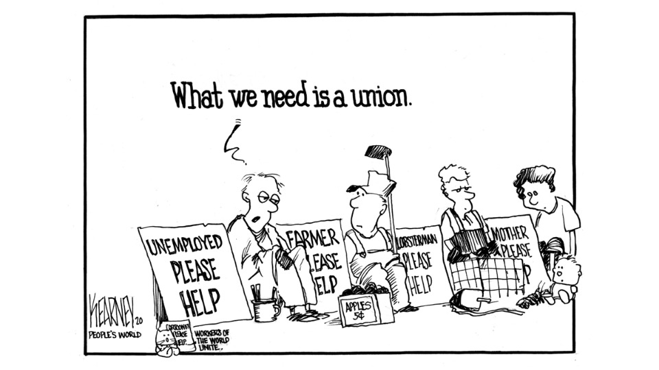 'Economic remedy for a post-pandemic economy: Unions.'