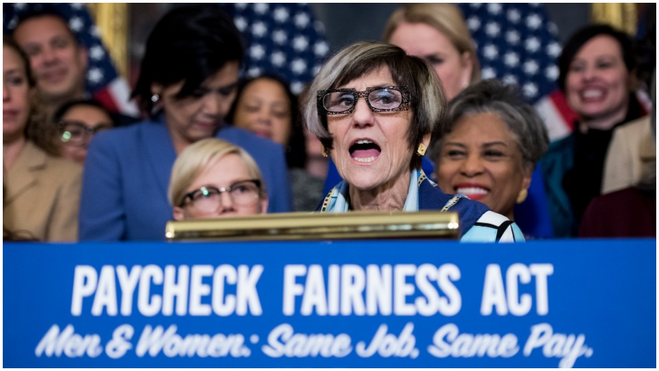 DeLauro: 'Woman workers on frontlines' of coronavirus battle still shorted in pay