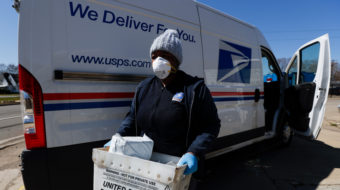 Unions back U.S. Postal Service's $75B pandemic appeal, oppose right-wing privatization plans