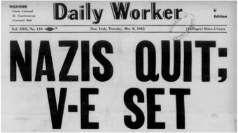 Final days of the war against fascism—from the Daily Worker archives