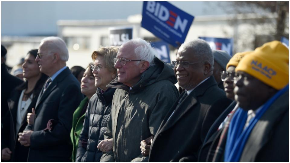 Biden, Sanders form task force to unite party on progressive agenda