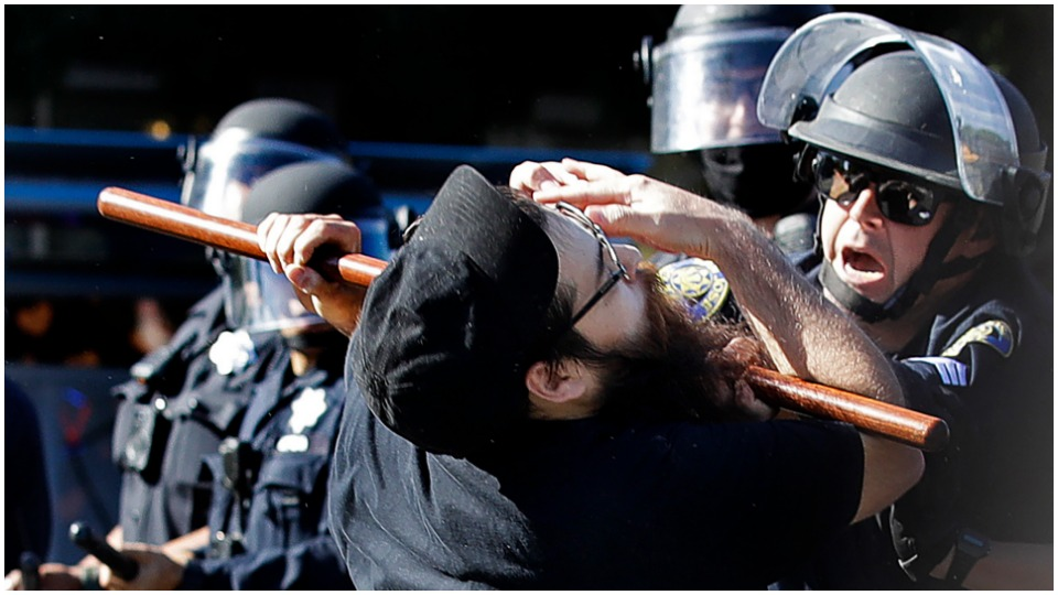 Trump wants repression and police violence to be capitalism's new normal