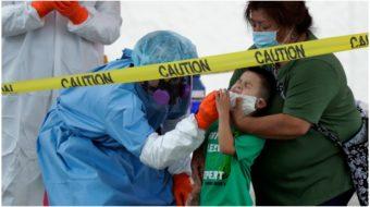 U.S. coronavirus infection rate now highest since pandemic began