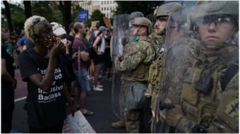 Dissension in the ranks? Pentagon breaks with Trump over protest crackdown