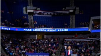 Poor turnout, hate speech, COVID infections mark Trump's Tulsa rally