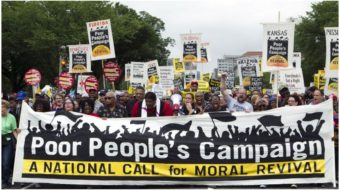 Hundreds of thousands join the New Poor People's Campaign virtual March