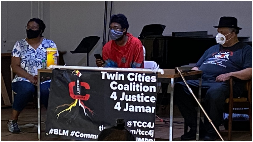 National Alliance Against Racist and Political Repression brings CPAC demand to Minneapolis