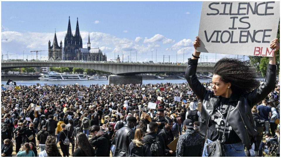 Black Lives Matter movement sweeps the world