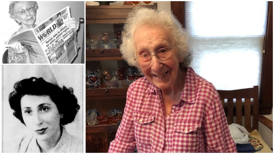 Angy Lebowitz, lifelong activist in the 'good fight,' to celebrate 100th birthday