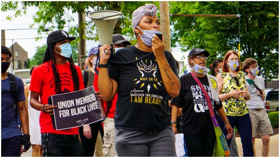 'Strike for Black Lives' targets racism, demands HEROES Act passage