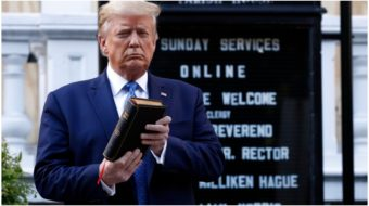 Separation of Trump and state: Blocking Republicans' evangelical election strategy