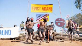 Indigenous warriors evict mining corporation from their land