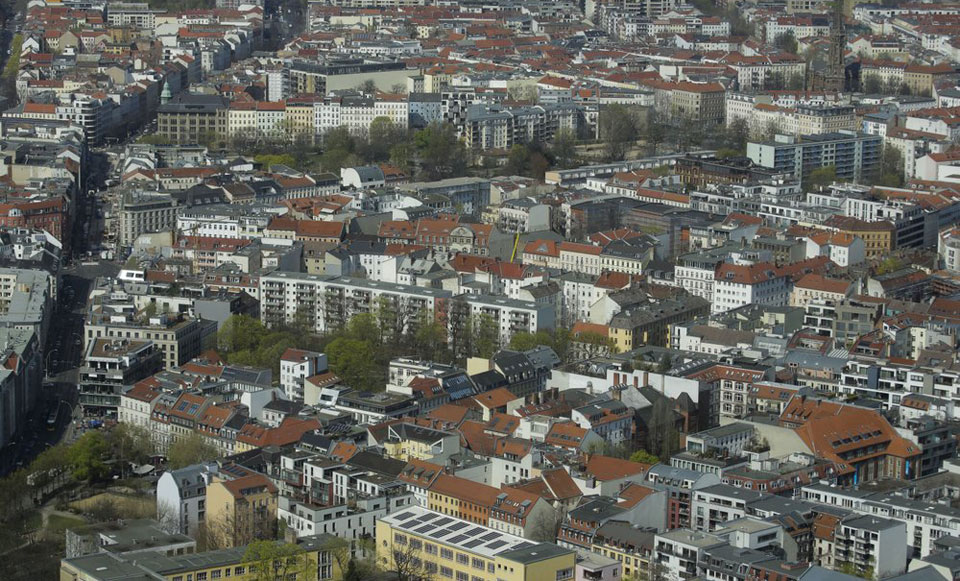 Germans battle virus deniers, landlords, and the right wing