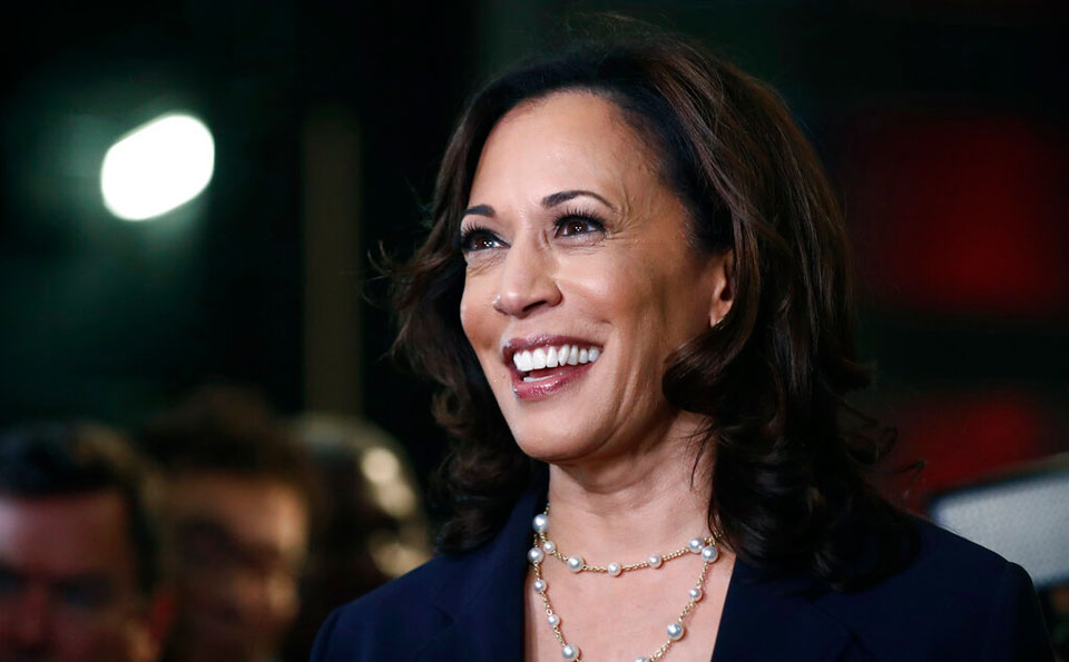 Selection of Kamala Harris as VP candidate makes history