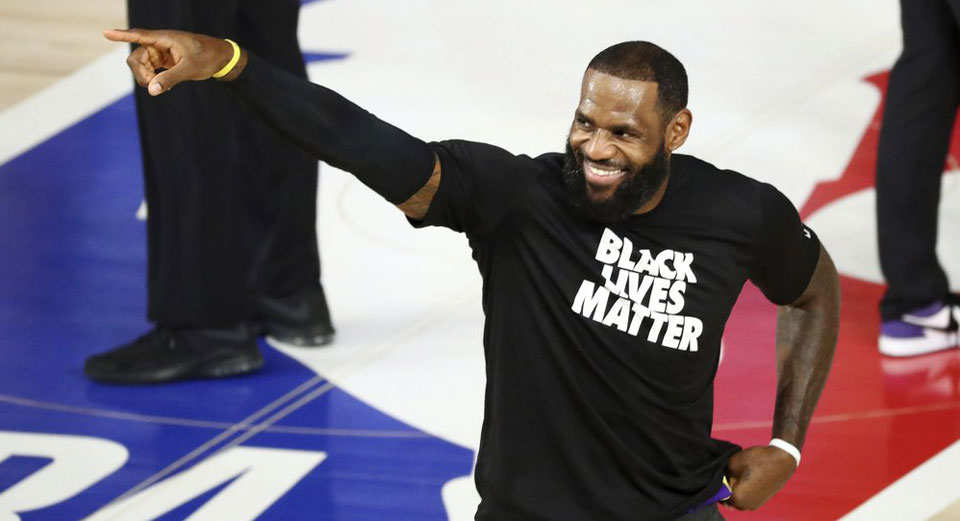 Latest wave of NBA activism aims at getting out the vote