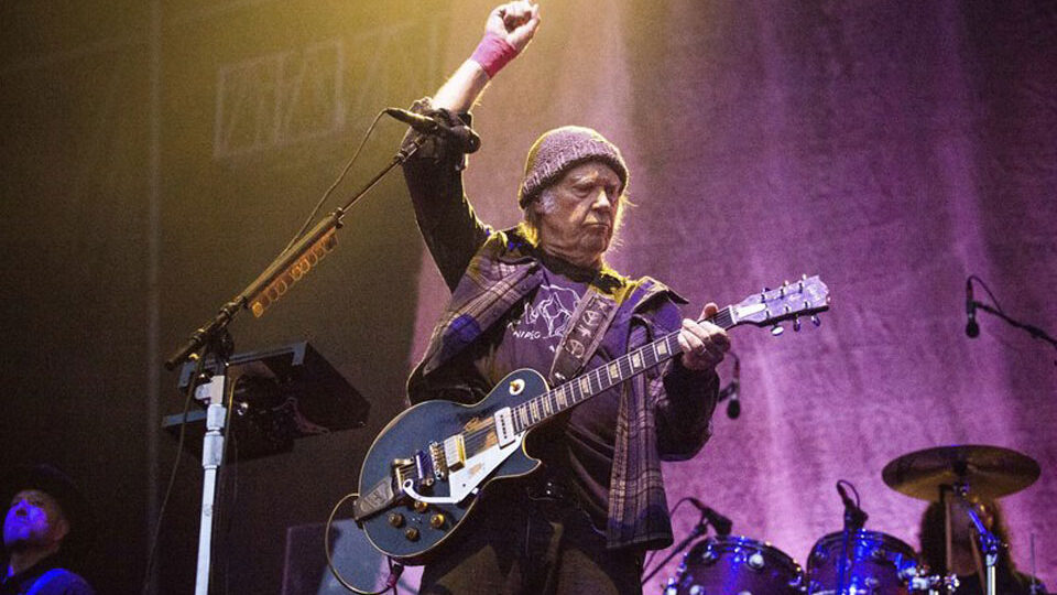 Neil Young sues Trump campaign, slamming use of famous tunes