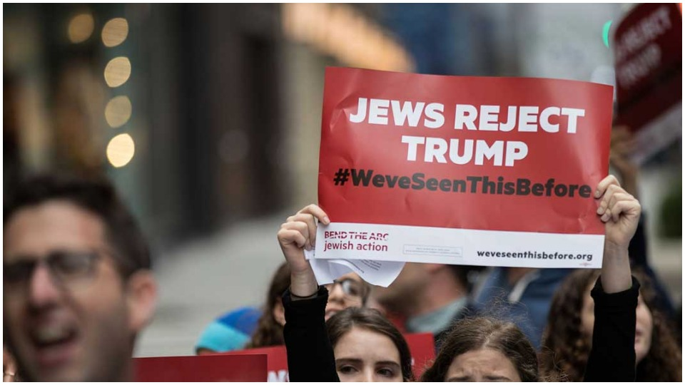 Democratic outreach to Jewish voters cites rising anti-Semitism under Trump
