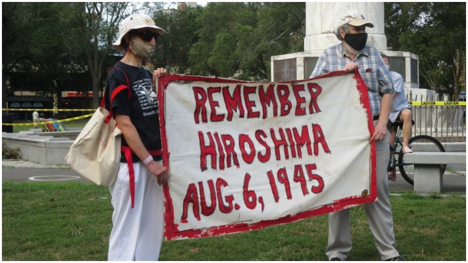 "Connecticut activists take up Hiroshima mayor's call: ""Unite against all threats"""