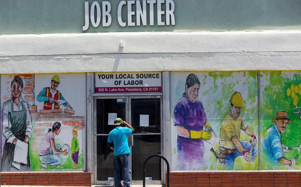Federal data: One of five workers claiming jobless benefits